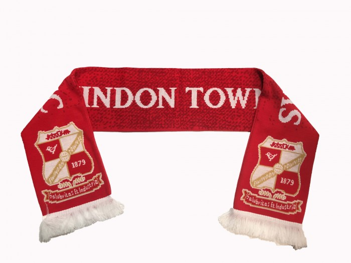 Swindon Town Speckled Scarf