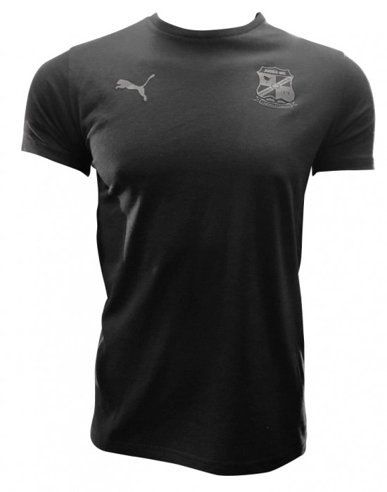 Puma Black Graphic Tee